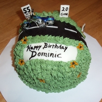 Dominic's Over The Hill Cake