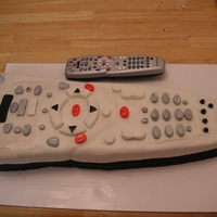 Comcast Remote I made this for a potluck at my husbands work. Yes, he works for Comcast.