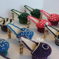 High Heel Cupcakes   For a bachelorette party.