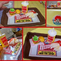 Wendy's Fast Food Wendy's cake