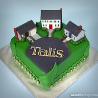 Trugreen Celebrates With Talis Landscape maintenance company TruGreen & Talis Property Management recently celebrated their business venture with this awesome cake....