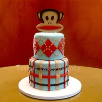 Paul Frank - Julius The Monkey Themed Cake