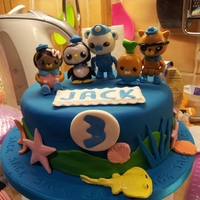 Octonauts Cake My grandson's 3rd birthday cake