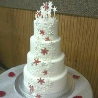 Snowflake Wedding Cake *