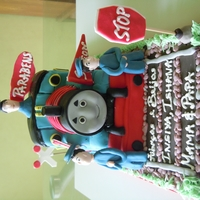 Thomas !....the Train Cake