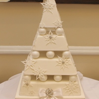 Different Style Wedding Cake Great Fun To Make Though Different style wedding cake, great fun to make though