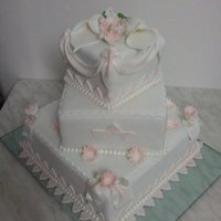 Romatic Wedding Cake