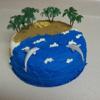 Beach This is a birthday cake