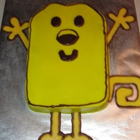 Wow Wow Wubzy My son loves Wubzy, so made him this wubzy cake for his 4th birthday! Arms, legs and tail are all out of melting chocolate.
