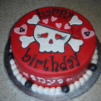 A Pirate Cake For A Girl1 A pirate cake for a girl1