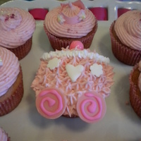 Princess Cupcakes Made for my twins princess and pirate birthday party