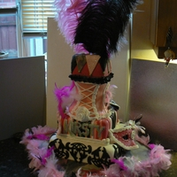 Kisty's18Th A masked Ball theme cake for the masked Ball party.