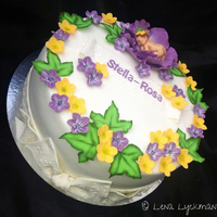 A Summery Baby Cake