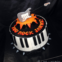 Simply A Music Cake For A Fantastic Guy Simply a music cake for a fantastic guy!