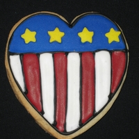 4Th Of July Heart