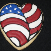4Th Of July Heart Sending a batch of these to a friend's son in Iraq.