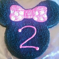 Minnie Mouse Minney Mouse Birthday Cake