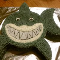 Shark Cake Shark made for little boys Birthday