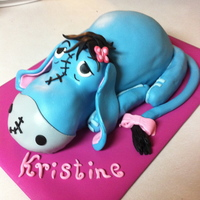 Eeyore Cake This turned out so great. I loved it and so did they.