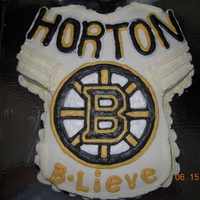 Horton Hears A Woooo! My daughter make the color flow 'B' and 'Horton' to celebrate after game 7 of the stanley cup finals. Way to go Boston...