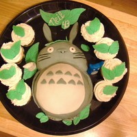 Totoro made this for my husband's birthday..we like Totoro.