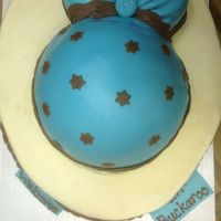This Is My 1St Attempt At A Baby Bump Cake   This is my 1st attempt at a baby bump cake.