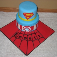 Superhero Cake For A 4 Year Old!!