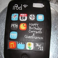 Ipod Touch Made this cake for my hubby and nephew who share the same bday and interests!! Another cake made over a year ago that i neglected to upload...