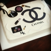 Chanel/ Mary Kay Birthday Cake