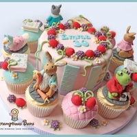 Big Cake Little Cakes : Beatrix Potter One of my favourite themes... and very popular with my clients too! Thanks for looking! Sx