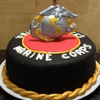Marine Corps Dominican Cake