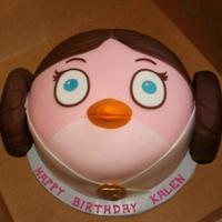 Princess Leia Bird Princess Leia Bird from Angry Birds Star Wars - I made this cake for my friend's daughter's 7th birthday. This is the second year...