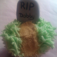 Rip Dobby I made lots of these for our Halloween party (late in posting i know sorry) they went down storm and were great fun to make