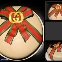 Gucci B-Day Cake Gucci biirthday cake :)