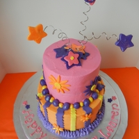 Dora Dora Dora The Explorer! WASC With buttercream and fondant accents to match a Dora themed party.