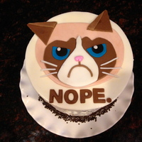 My 39Th Birthday Cakegrumpy Cat My Favorite My 39th Birthday Cake…Grumpy Cat (my favorite!)