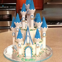 Castle Cake   Wilton castle kit.