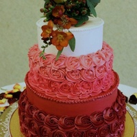 Ombre Wedding Cake Buttercream Cake