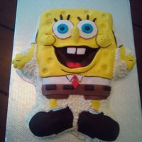 Sponge Bob   this is a mix technic about fondant and icing