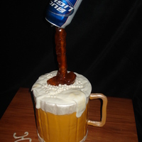 Beer Pour Cake