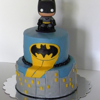 Batman I can't take credit for making the cute little batman. I saw it at the store and thought it would be a perfect addition to the cake. I...