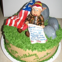 Veteran And Keebler Had to delete and repost this picture since the link was having problems. I did it back in 2010. The gentlman this cake was made for is a...
