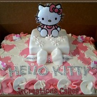 Hello Kitty Cake Hello Kitty Cake!!