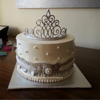 Tiara Cake For Alyssa Tiara cake for Alyssa