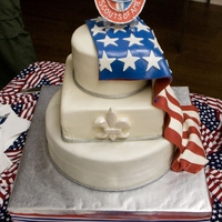 Eagle Scout Cake For an Eagle Court of Honor.