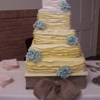 Little Birdie Wedding Cake