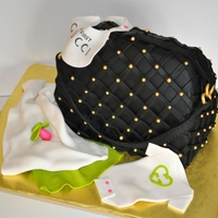Designer Purse Baby Shower