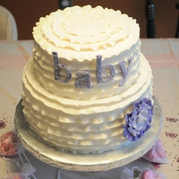 Jessica's Baby Shower Cake All fondant