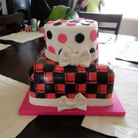 Pink And Black Did this for my daughter's 2nd birthday. Would do a few things different the 2nd time but overall I was very happy with it! TFL.