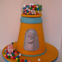 Gumball Machine Inspired by all the gumball machine cakes here at cake central. I used a natural food coloring for the first time for the orange (...